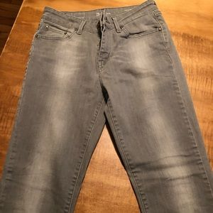 Gray Levi's jeans